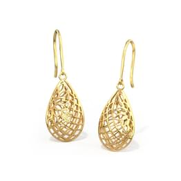 Quill Cutout Drop Earrings