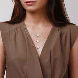 Trio Pearl Layered Necklace