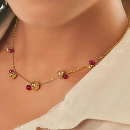 Sudha Gold Necklace