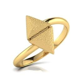 Golda Hammered Ring