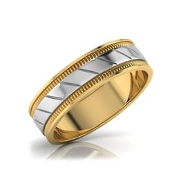 Alec Gold Band for Him