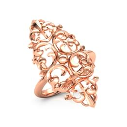 Tall Filigree Ring