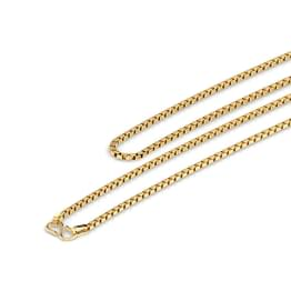 Texture Box Gold Chain