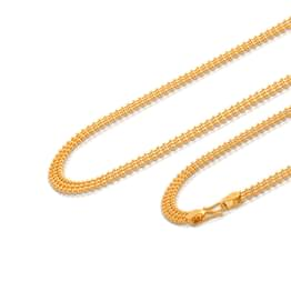 Triple Ball Gold Chain