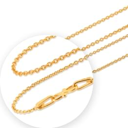 Allure Cable Gold Chain