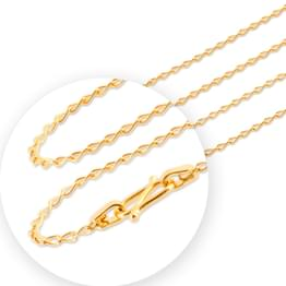 Twist Cable Gold Chain