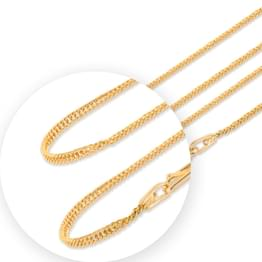 Twine Link Gold Chain