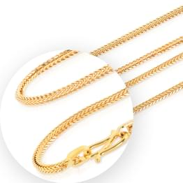 Delight Foxtail Gold Chain