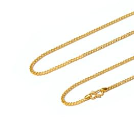 Firm Cable Gold Chain