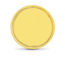 Plain Gold Coins